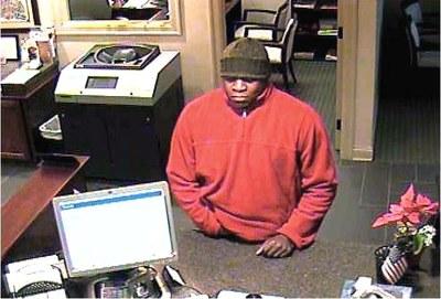 Newton, Pennsylvania Bank Robbery Suspect (12/24/13)