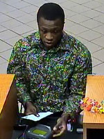 Ft. Lauderdale, Florida Bank Robbery Suspect, Photo 1 of 2 (2/28/13)