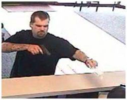 Southeast Serial Bank Robbery Suspect, Photo 4 of 10 (8/24/09)