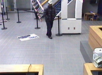 Oklahoma City Bank Robbery Suspect, Photo 1 of 5 (2/14/13)