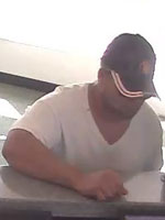 Lighthouse Point, Florida Bank Robbery Suspect, Photo 2 of 5 (11/9/12)