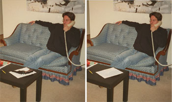 Figure 1 shows an altered image.