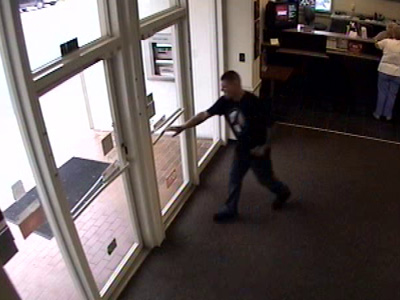 Picture of bank robbery suspect