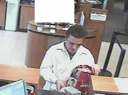 Imperial Beach, California Bank Robbery Suspect, Photo 2 of 4 (11/17/12)