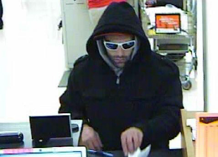 Suspect in Eureka Attempted Bank Robbery (11/25/13)
