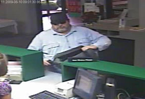 St. Louis Serial Bank Robbery Suspect, Photo 2 of 3 (12/22/09)