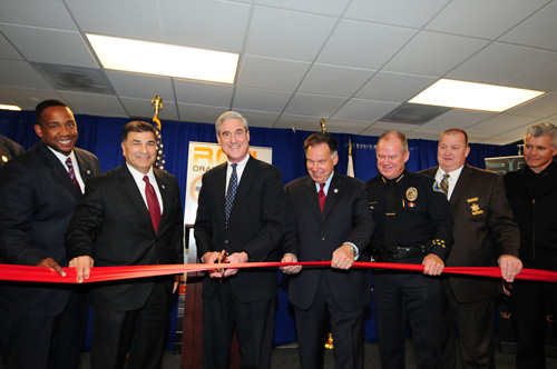 Ribbon-Cutting Ceremony for New Orange County Regional Computer Forensics Laboratory in California in January 2011