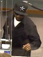Houston Bank Robbery Suspect, Photo 1 of 2 (11/7/2012)