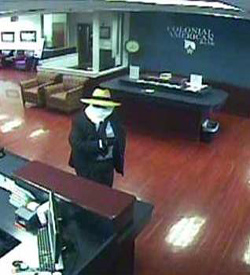 Philadelphia Division Serial Bank Robbery Suspect, Photo 1 of 6 (4/9/13)