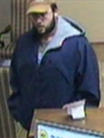 Knoxville Bank Robbery Suspect, Photo 2 of 4 (12/2/13)