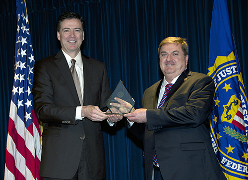 Criminal Justice Information Services (CJIS), Director's Community Leadership Award 2011