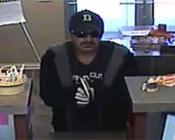 Vonore, Tennessee Bank Robbery Suspect, Photo 1 of 2 (11/17/11)