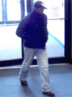 Philadelphia Division Serial Bank Robbery Suspect, Photo 3 of 7 (11/5/13)