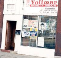 Yolimar salon storefront