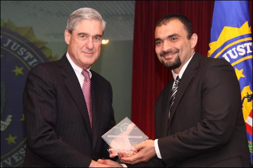 Director Mueller and Mohamed Abdul-Azeez