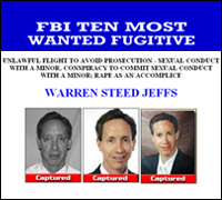Warren Jeffs wanted poster