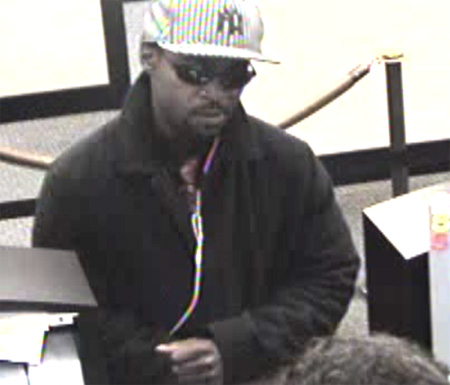 San Diego Division Bank Robbery Suspect, Photo 1 of 4 (12/23/10)