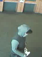 San Diego Bank Robbery Suspect, Photo 3 of 3 (1/14/13)