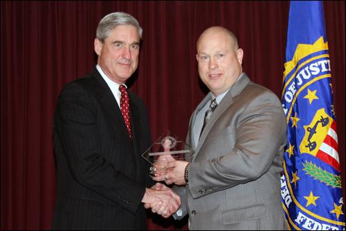Director Mueller and Brad Richmond