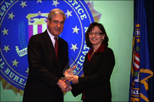 Indianapolis field office Director's Community Leadership Award 2011