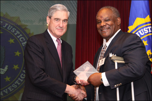 Director Mueller and Bill Wilkerson
