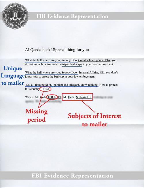 FBI — FBI and U S  Postal Inspection Service Announce Reward