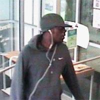 Philadelphia Bank Robbery Suspect, Photo 1 of 3 (9/10/13)