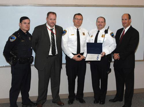Re-Accreditation of Peoria Police Department Bomb Squad (12/21/09)