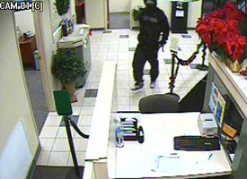 Denver Bank Robbery Suspect, Photo 1 of 4 (12/24/09)