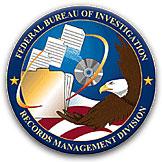 FBI Records Management Division seal