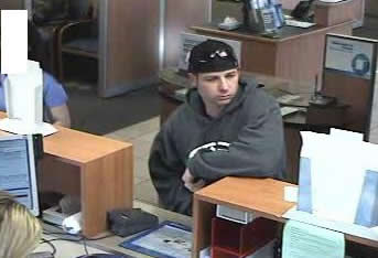 Fallbrook, California Bank Robbery Suspect, Photo 2 of 2 (12/10/10)