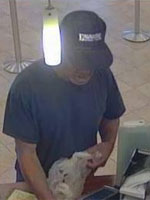 San Diego Bank Robbery Suspect, Photo 1 of 4 (10/29/13)
