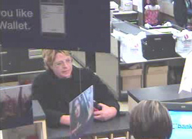 Carmichael, California Bank Robbery Suspect, Photo 4 of 4 (11/2/09)