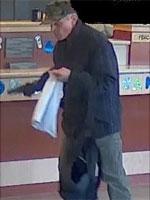 Cambridge Bank Robbery Suspect, Photo 1 of 8 (10/1/13)