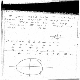 One of the Zodiac Killer's Enciphered Messages
