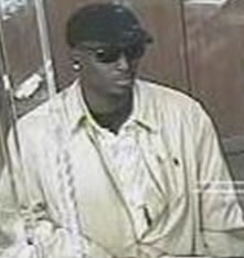 Houston Bank Robbery Suspect, Photo 3 of 4 (4/2/13)