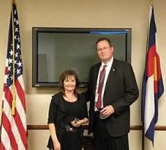 Denver Division Director's Community Leadership Award, Photo 5 of 5 (12/9/09)