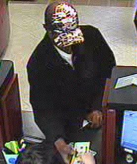 Norman, Oklahoma Bank Robbery Suspect, Photo 2 of 4 (2/1/13)