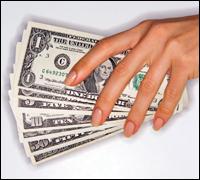 Hands on money