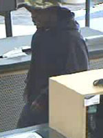 San Diego Bank Robbery Suspect, Photo 1 of 4 (3/15/13)