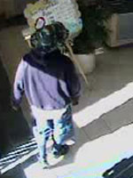 San Diego Bank Robbery Suspect, Photo 3 of 4 (3/15/13)