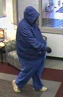 Knoxville Bank Robbery Suspect, Photo 3 of 4 (10/23/09)