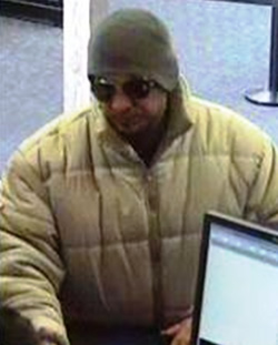 Albuquerque bank robbery suspect (2/4/13)