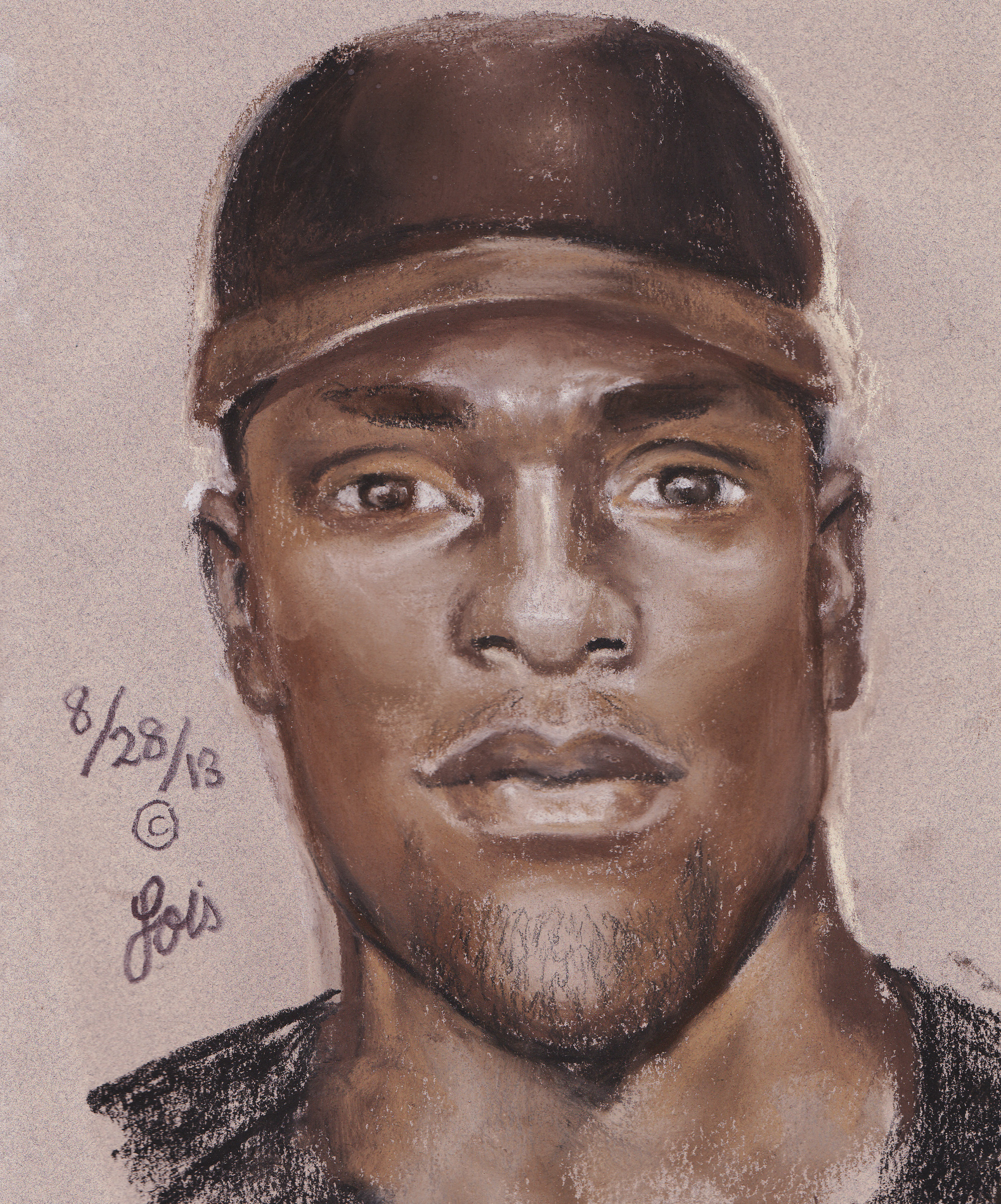 Sketch in Armored Car Robbery (9/3/13)