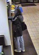 Schaumburg Bank Robbery Suspect, Photo 2 of 3 (11/23/10)