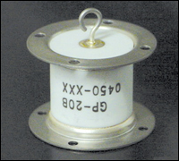 A triggered spark gap like this can be used to set off a nuclear bomb.