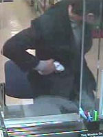 San Diego Bank Robbery Suspect, Photo 5 of 5 (11/27/12)