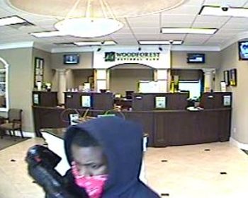 Humble, Texas Bank Robbery Suspect, Photo 1 of 3 (3/22/13)