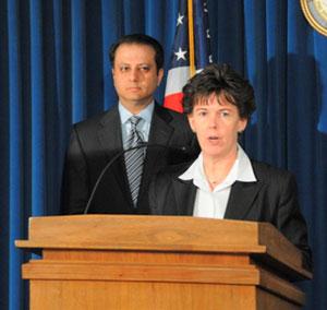 FBI Assistant Director Janice Fedarcyk