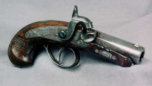 Figure 3. Deringer Pistol Used by John Wilkes Booth to Assassinate Abraham Lincoln